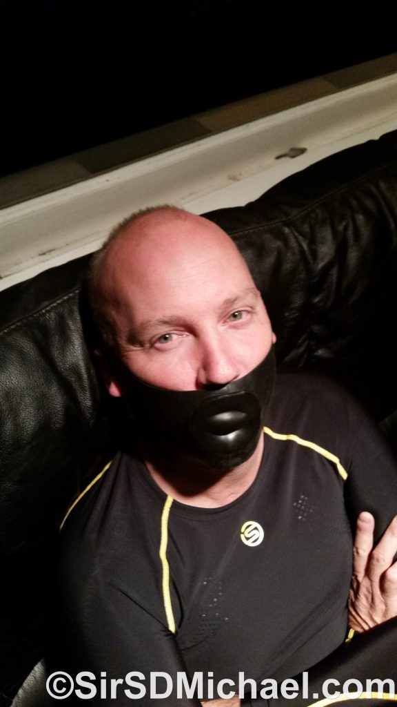 Gagged and in my Skins A200 long sleeve shirt